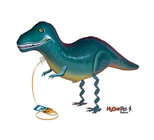 tyranosaurus rex dinosaur balloons