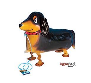 dachschund dog balloons