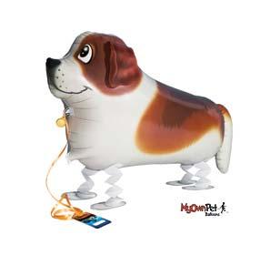 st. bernard dog balloons